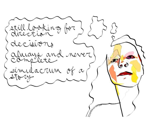 simulacrum of a story 16x20 self portrait w