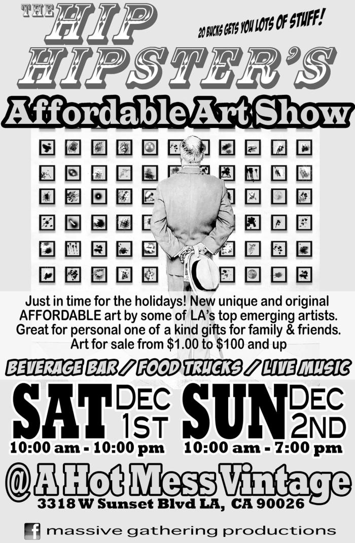 Affordable Art Show This Weekend