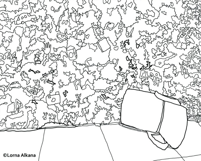 down chair16x20 for web line drawing