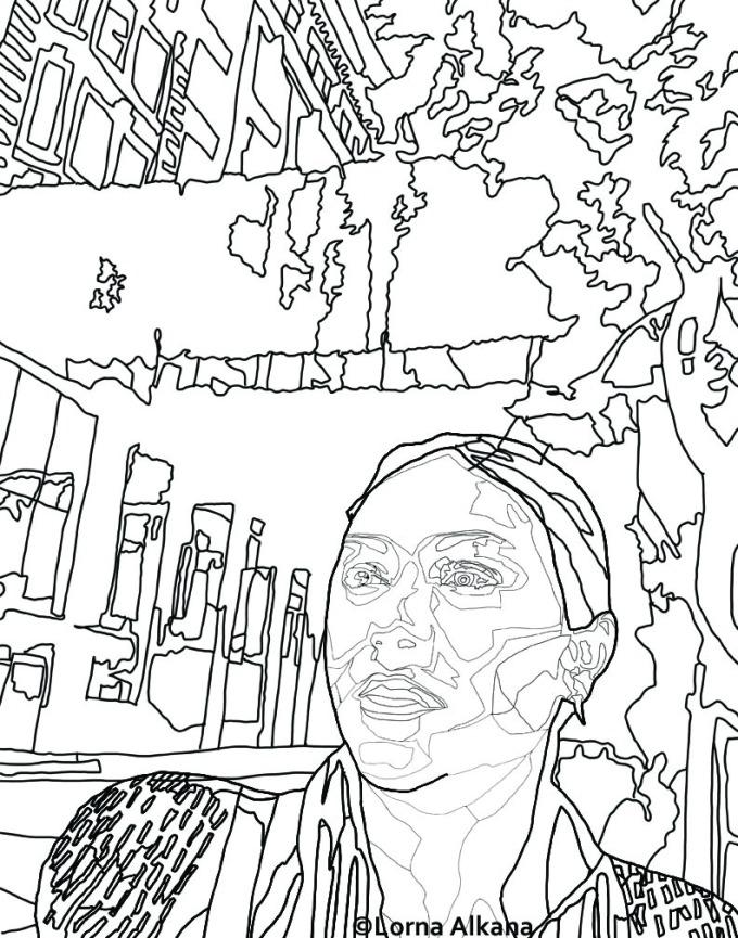 v art walk 11x14 for web line drawing