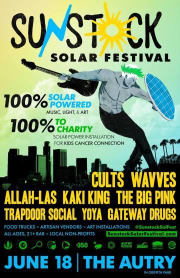 sunstock solar festival 2016