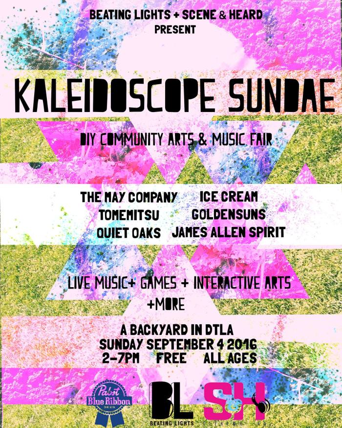 beating lights kaleidoscope sundae