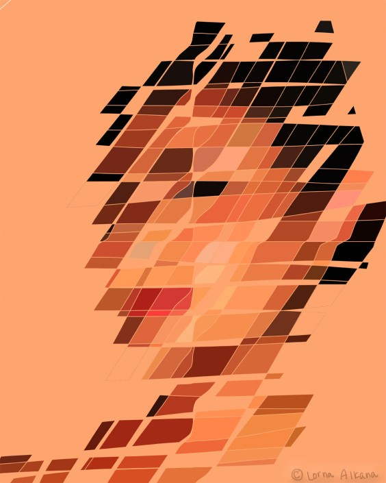 mona portrait 16x20 w