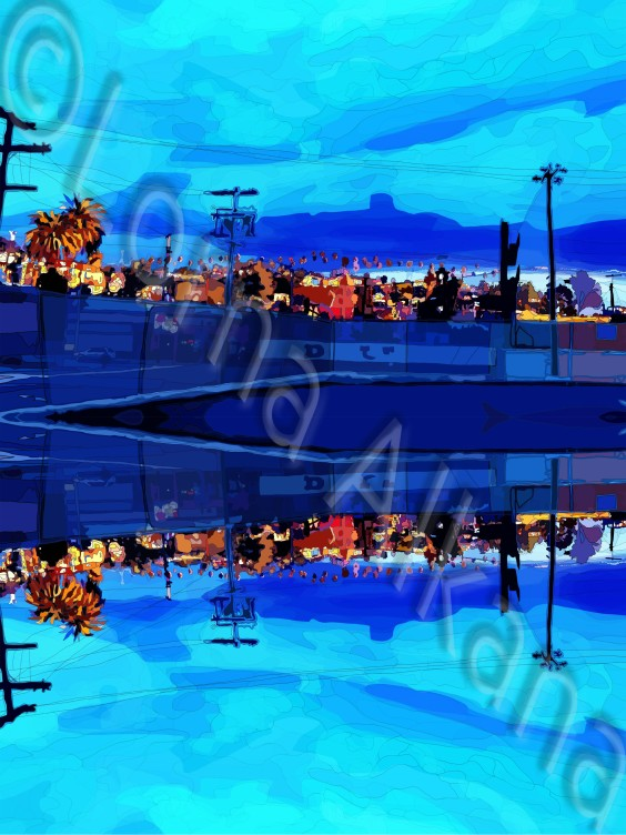 paved paradise 40x30 web reflection