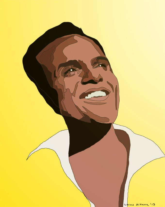 harry belafonte 16x20 web