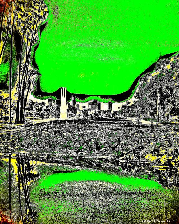 echo park lake green 8x10 web