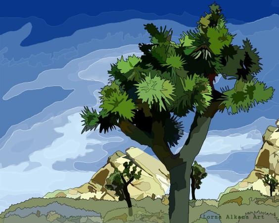 joshua tree 16x20w
