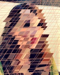 Esther Portrait - Lines to Shapes (Process)