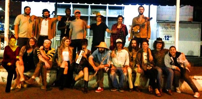 troupe family portrait l