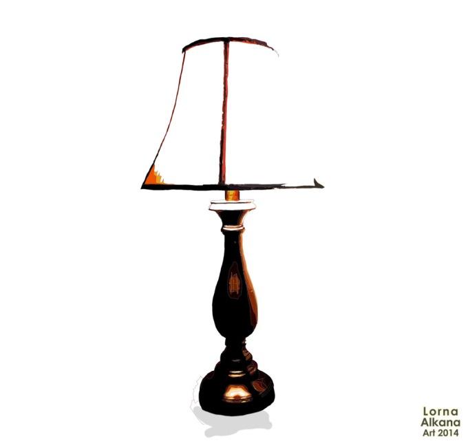 lamp lorna alkana w