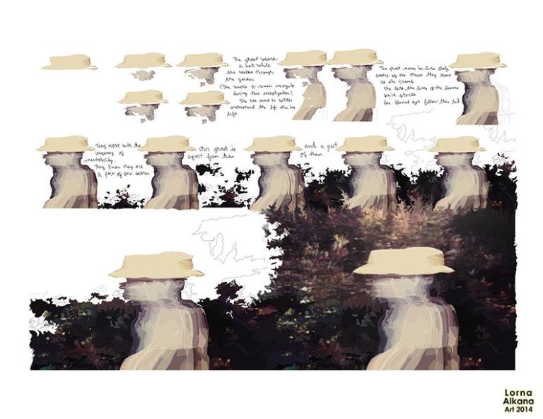 ghost garden 85x11 pw