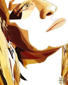 megan portrait process 2 lorna alkana 16x20