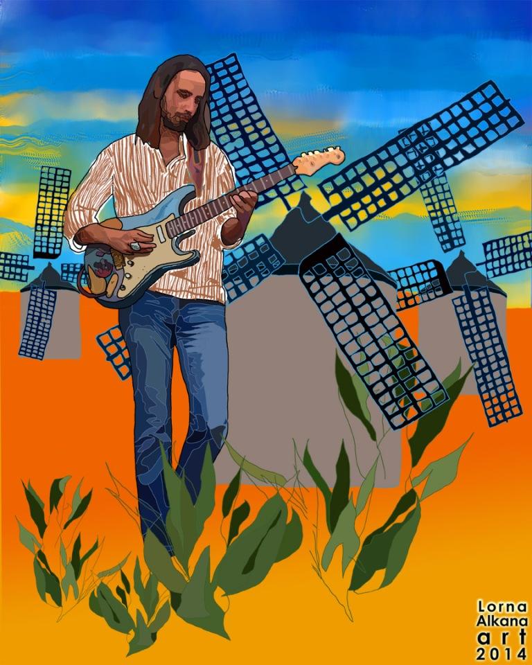 mars de la mancha windmills 12x15 w