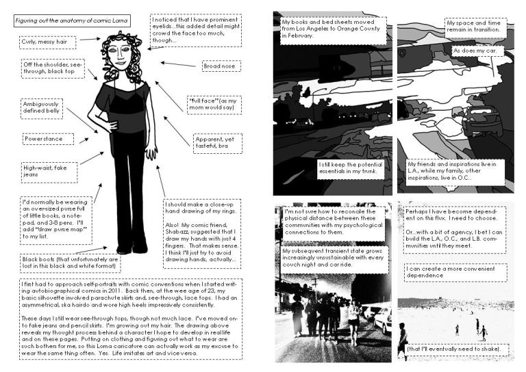 affect page one two spread