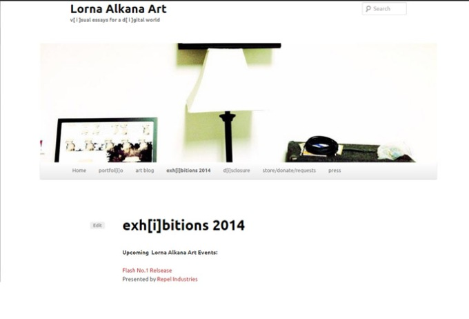 exhibitions 2014 promo lorna alkana art w