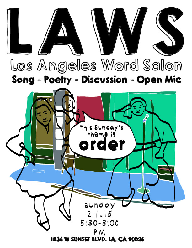 The theme for this week's @lawordsalon is #order