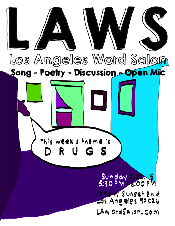 The theme for this week's @lawordsalon is #drugs