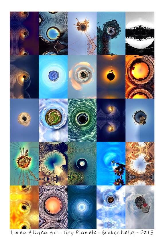 tiny planet poster lorna alkana