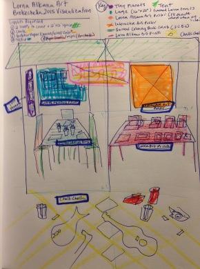 Lorna Alkana Art Installation_Brokechella2015