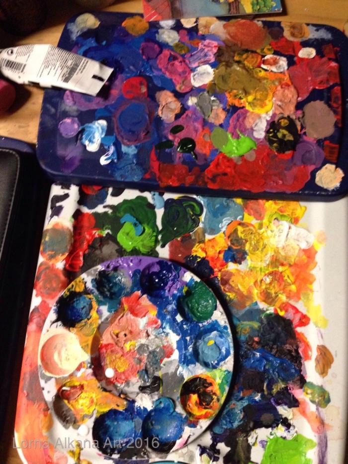 lorna alkana art painting place