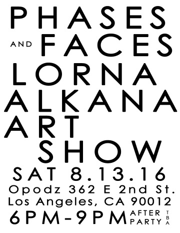 phases and faces flyer p