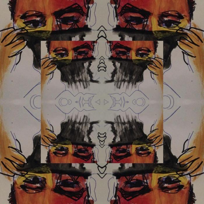 stuck watercolor kaleidoscope