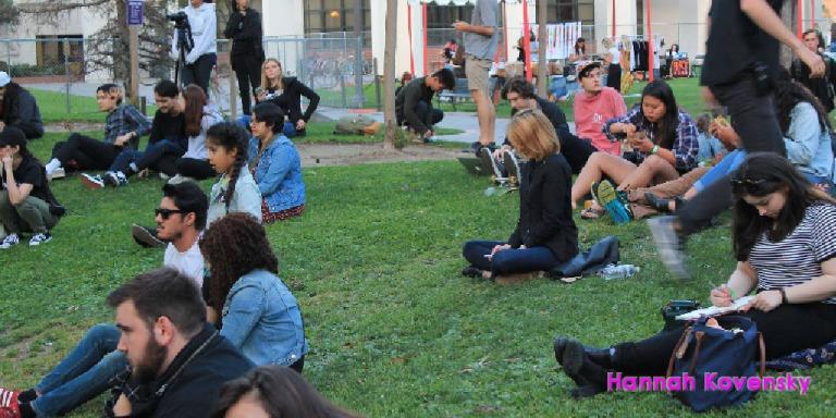 crowd shout fem fest hannah kovensky