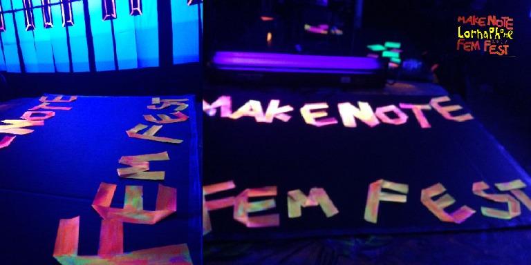 making sign fem fest landscape web
