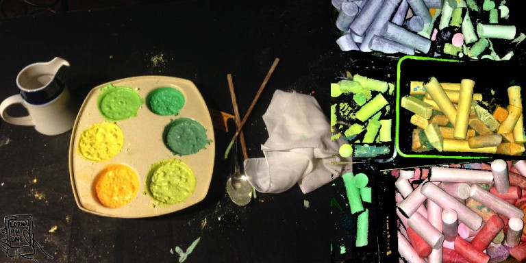 chalk lornaphone