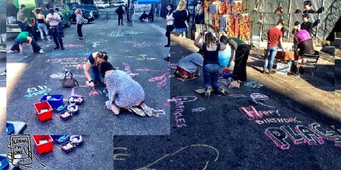 plag chalk fun lornaphone w