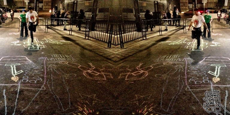 plag night chalk lornaphone w