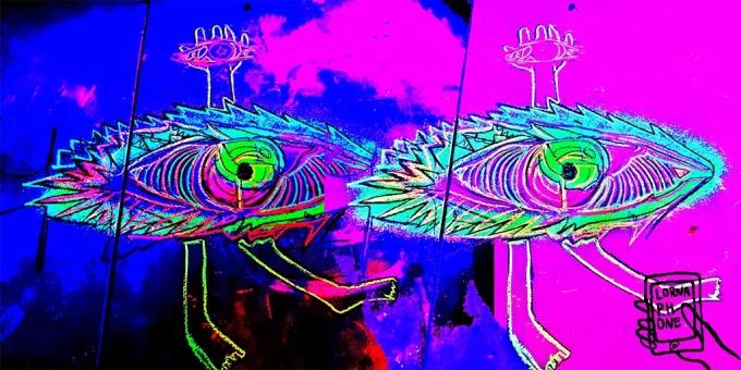 eyes trump acid chalk lornaphone