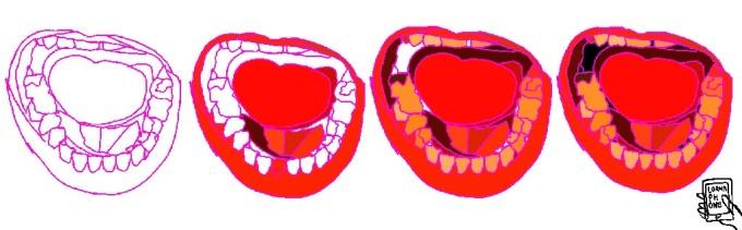 trump mouths lornaphone