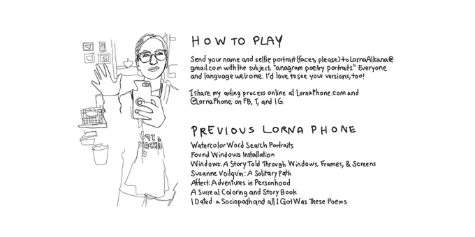 how to play anagram poetry blog lornaphone
