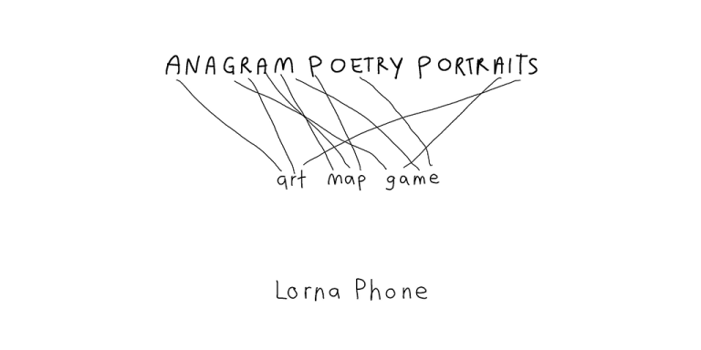 title page anagram poetry blog lornaphone